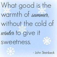 Winter Quotes | The Quotes Tree