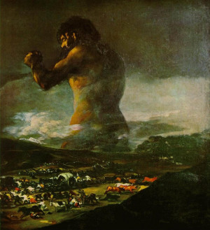 Francisco Goya - The Colossus - 1808-1812