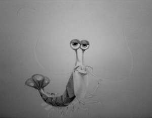 Squirt Finding Nemo Drawing Jacques (finding nemo) by