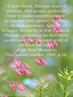 Inspiring Quotes Garden and Nature