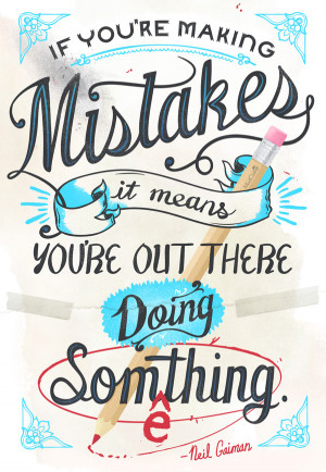 Neil Gaiman quote, designed by #ModCloth!