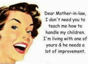 mother in law quotes mother in law quotes i e some cute funny and ...