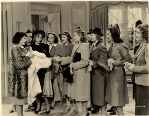 Luise Rainer with her classmates from Dramatic School, including Lana ...