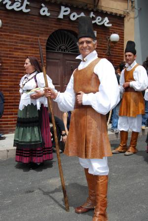 The people of Sardinia, Italy; Sardinians - Italians