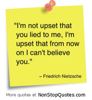 quotes about not lying