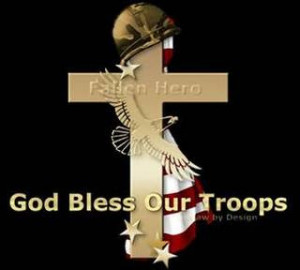 Let's not forget our Troops on this Holy Weekend~