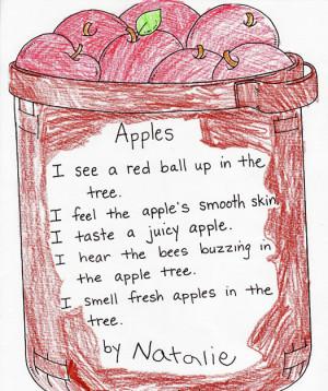 Senses Poem Examples