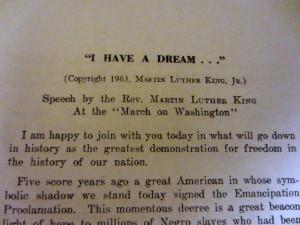 Have A Dream Speech Speech 'i have a dream .
