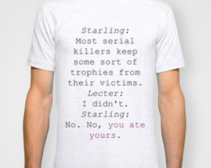 Starling Hannibal Lecter Silence Of The Lambs Movie Quote Cannibals