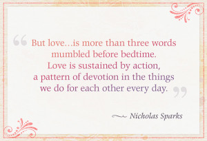 Day 54: Your definition of love