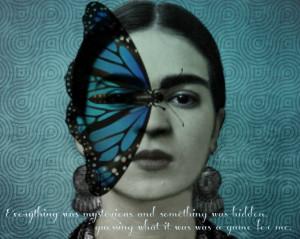 frida kahlo artwork | Frida Kahlo Art Print 'Mystery' by Christine ...