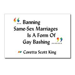 view larger pro gay marriage postcards 8 pro gay marriage gifts quote ...