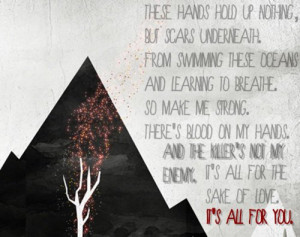 sleeping with sirens quotes | the bomb dot com sws sleeping with ...