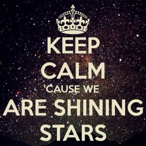 Keep Calm Star Quote