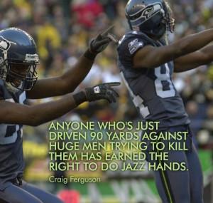 Craig Ferguson funny football quote