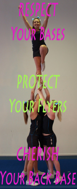Cheer Quotes For Flyers Of cheer and dance!