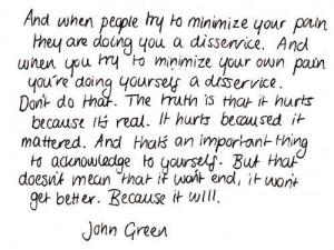 Book Quotes Tumblr John Green large jpg