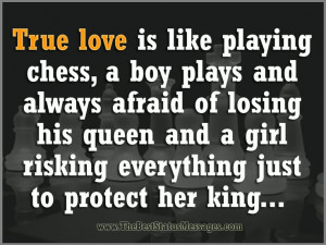 Chess King And Queen Quotes Is like playing chess,