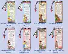 Suzy Toronto Bookmarks with Sayings