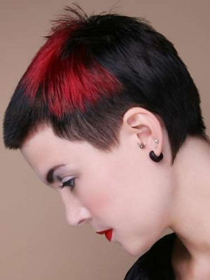 red hair quotes. Dapper Emo Hair Color Ideas
