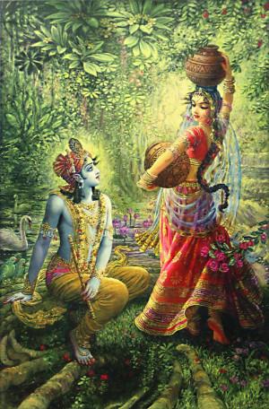 Radha-krishna Beautiful Painting series