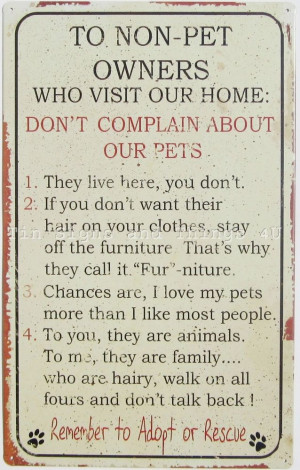 ... Pet #Grooming: Tins Signs, Animal Quote, Non Pets Owners, Cat Lover