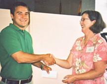 garden club scholarship winner