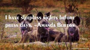 Amanda Burton Quotes