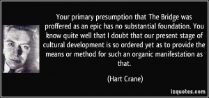 More Hart Crane Quotes
