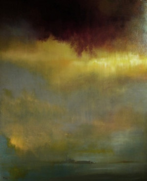 Saatchi Online Artist Maurice Sapiro; Painting, Raincloud Over Venice ...