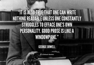 George Orwell Quotes On Truth
