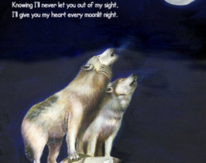 Wolf Quotes About Love Personalized 8
