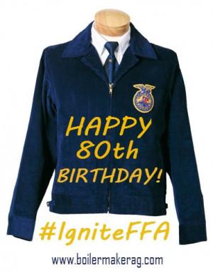 Celebrating 80 Years of the #FFA Jacket at the 2013 National FFA ...