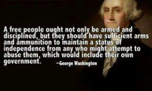 ... speech Washington gave before Congress in 1790. The actual quote is