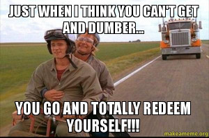 Dumb and Dumber Aspen Quote