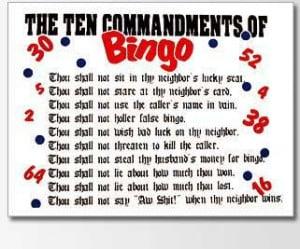 Casino night sayings