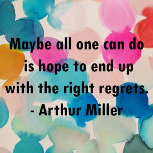 arthur miller quote