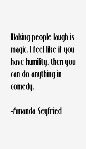 Amanda Seyfried Quotes amp Sayings
