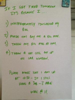 Hilarious Notes Written By Drunk People… (17 Pics)