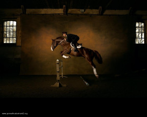 ... hunters horseback riding equitation Horse Riding yann arthus-bertrand