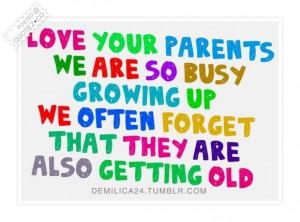 Quotes Love About Parents