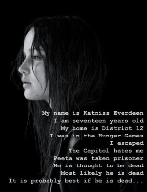 Katniss everdeen in mockingjay quote
