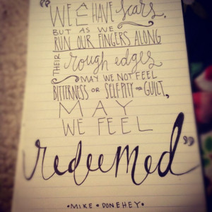 redeemed tattoo | mike donehey # tenth avenue north # scars # the ...