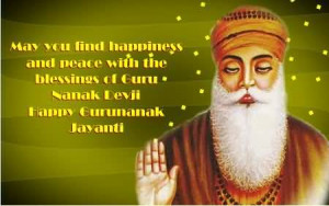 May You Find Happiness And Peace With The Blessings Of Nanak Dev Ji ...