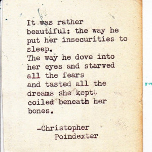 dreams, fears, insecurity, love, quote