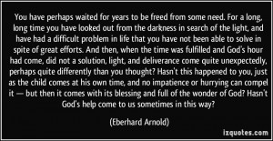 ... -need-for-a-long-long-time-you-have-looked-eberhard-arnold-337426.jpg