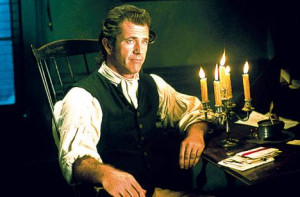 Mel Gibson in a scene from The Patriot: To widespread outrage, it was ...