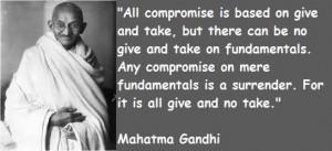 Mahatma gandhi famous quotes 5