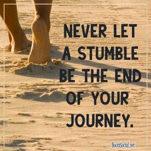 Monday Inspirational Quote - Journey