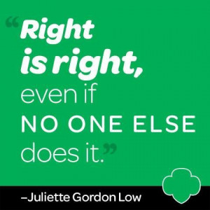 juliette gordon low quotes - Google Search